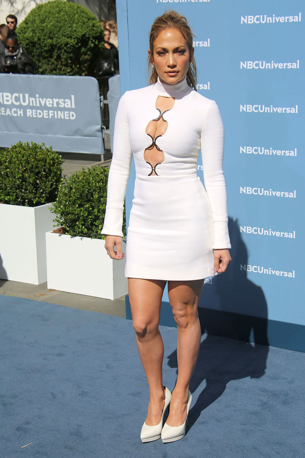Jennifer Lopez Nbcuniversal Upfront Presentation In New