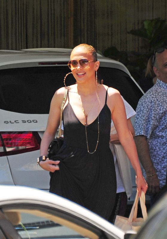 Jennifer Lopez - Went to the Spa in the Standart Hotel in Miami, FL 5/7/2016