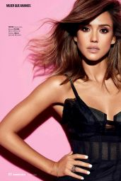 Jessica Alba - Cosmopolitan Magazine Chile June 2016 Issue