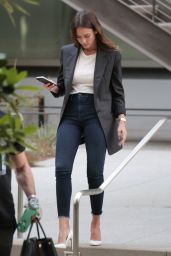 Jessica Alba Office Chic Outfit - Out in Beverly Hills 5/24/2016