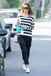 Jessica Alba - Visiting a Family Friend Beverly Hills, CA 5/3/2016