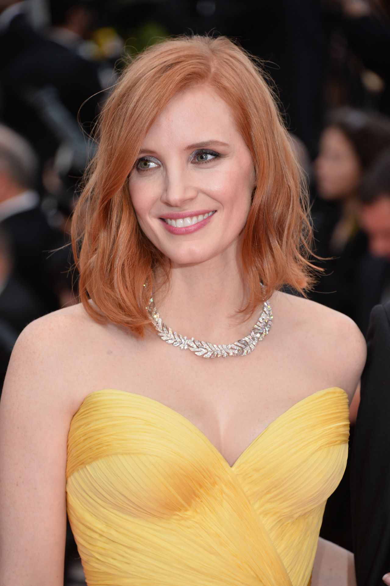 Jessica Chastain Cafe Society Amp Opening Gala 2016
