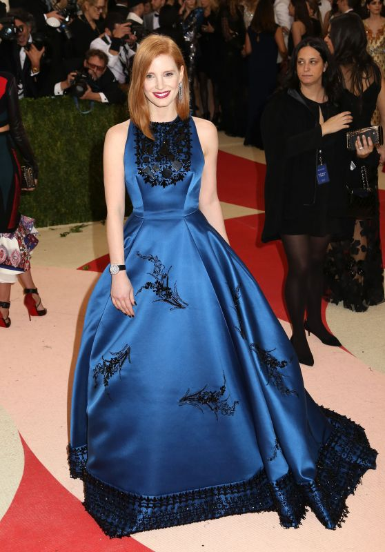 Jessica Chastain – Met Costume Institute Gala 2016 in New York