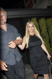 Jessica Simpson at The Nice Guy in West Hollywood 5/10/2016