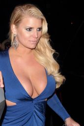 Jessica Simpson Night Out Style - Beverly Hills 5/14/2016