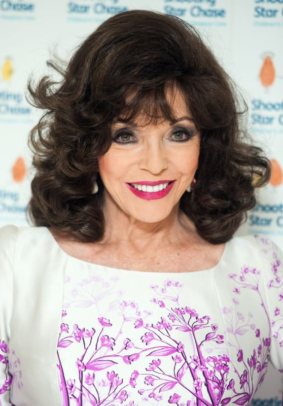 Joan Collins - Afternoon Tea at The Dorchester, London, May 2016