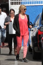 Jodie Sweetin at the DWTS Studio Hollywood, May 2016