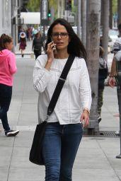 Jordana Brewster - Shopping in Los Angeles, 5/18/2016