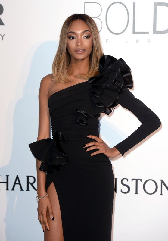 Jourdan Dunn – amfAR's Cinema Against AIDS Gala in Cap d'Antibes, France, 5/19/2016
