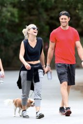 Julianne Hough - Out With Her Dog in Studio City 5/7/2016