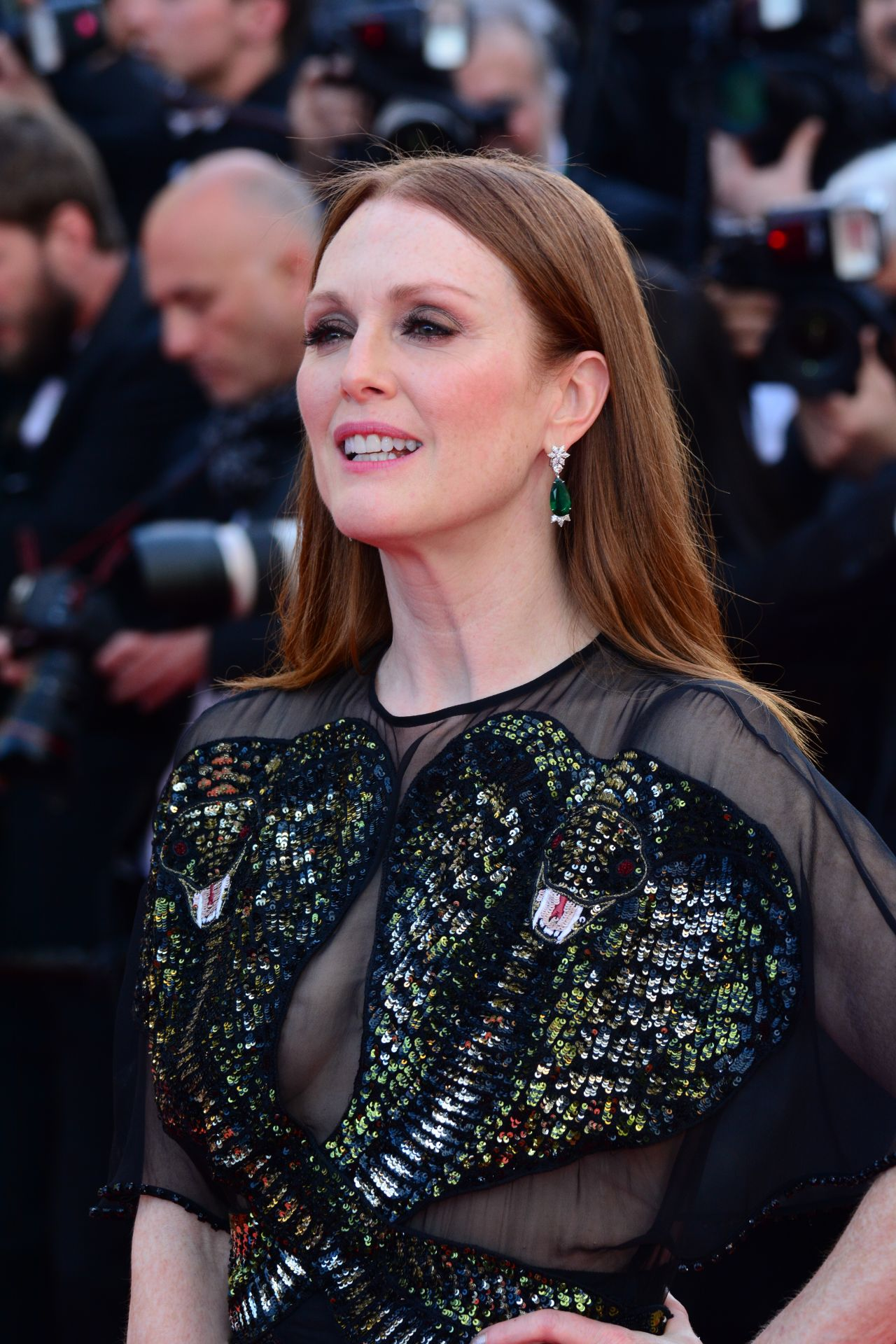 Julianne Moore Opening Ceremony At Palais Des Festivals