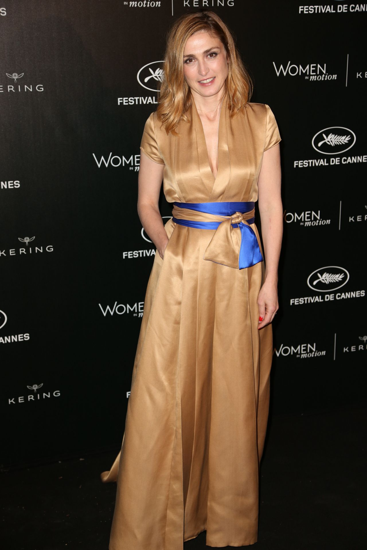 Julie Gayet Women In Motion Reception 69th Annual