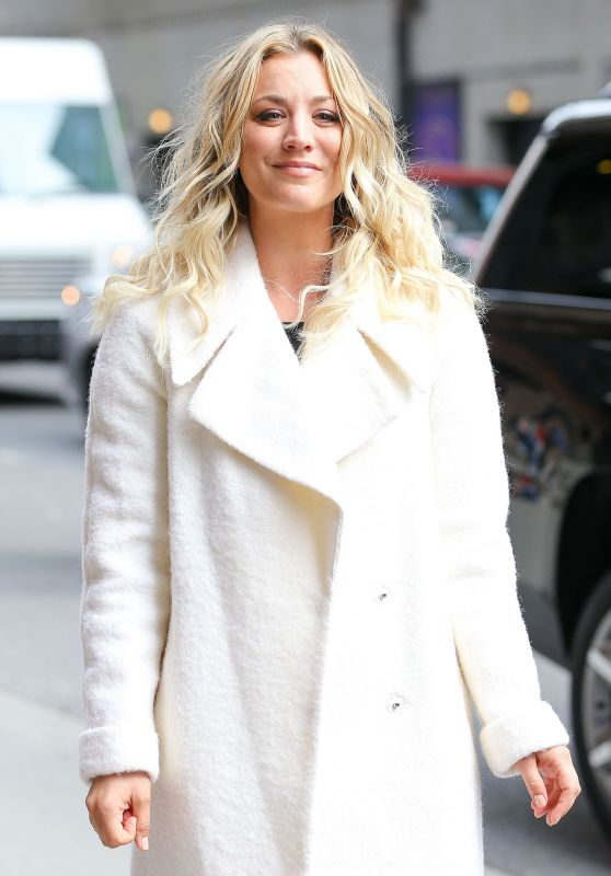 Kaley Cuoco Arriving to Appear on