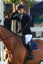 Kaley Cuoco at an Equestrian Competition in La Canada, CA 4/30/2016