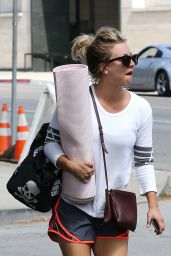 Kaley Cuoco - Going to Yoga Class in Los Angeles 5/23/2016