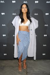 Karrueche Tran - AOL NewFront 2016 At The Seaport District New York 5/3/2016