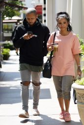 Karrueche Tran - Hit The Grove Mall For Some Retail Therapy - Los Angeles 5/23/2016