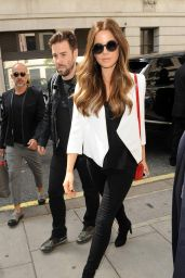 Kate Beckinsale at BBC Radio 2 in London 5/26/2016