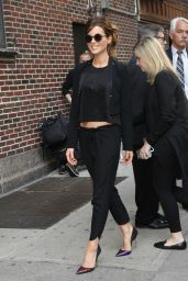 Kate Beckinsale at The Late Show With Stephen Colbert