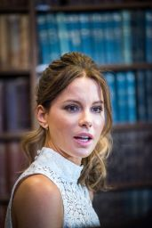 Kate Beckinsale at The Oxford Union in Oxford 5/27/2016