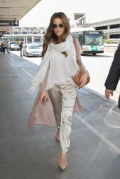 Kate Beckinsale Travel Outfit - at LAX Airport in LA 5/6/2016