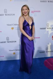 Kate Hudson Hot in Slinky Purple Gown - Kaleidoscope Ball at 3LABS in Culver City 5/21/2016
