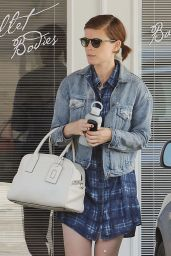 Kate Mara Street Style - Out in Los Angeles 5/12/2016