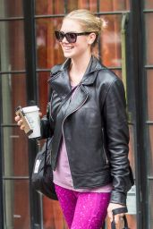 Kate Upton - Leaving Bowery Hotel The Day After Met Gala in NYC 5/3/2016