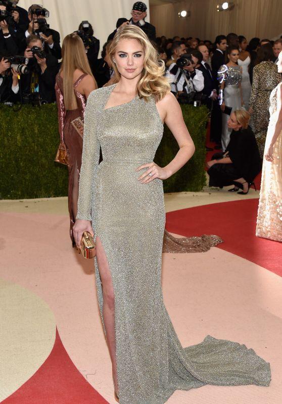 Kate Upton – Met Costume Institute Gala 2016 in New York