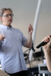 Katharine McPhee - National Memorial Day Concert Rehearsals in Washington, DC 5/28/2016