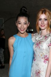 Katherine McNamara - Wolk Morais Collection 3 Fashion Show in Los Angeles 5/24/2016