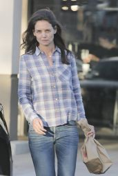 Katie Holmes - Leaving CVS in Calabasas 4/29/2016