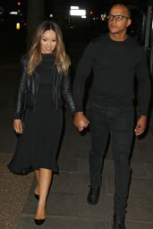 Katie Piper - Leaving a Private Screening of Her New Channel 4 Show in London, May 2016