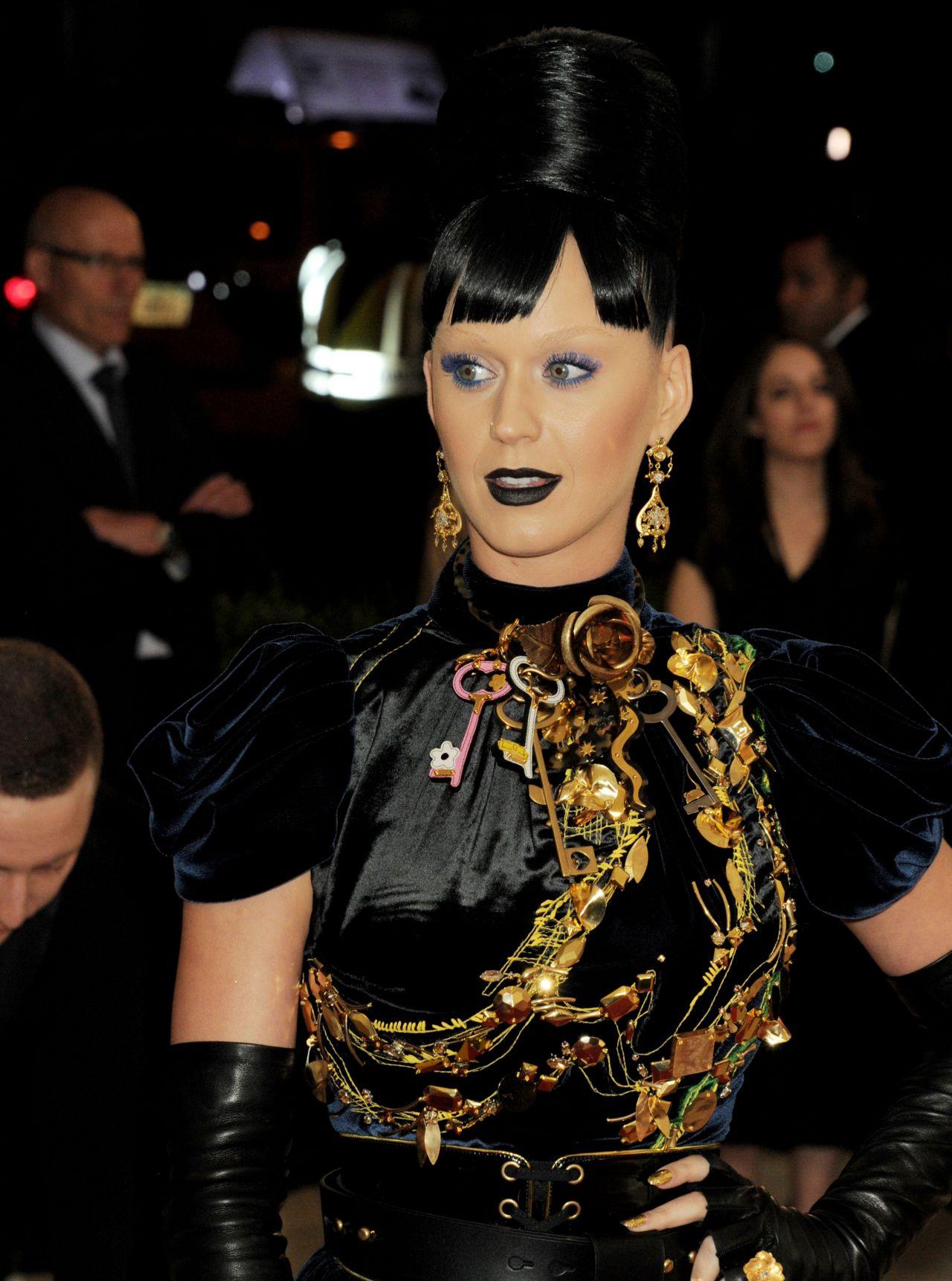 Katy Perry Met Costume Institute Gala 2016 In New York