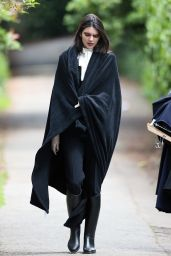 Kendall Jenner - Doing a Photoshoot in London, UK 5/24/2016