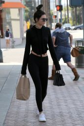 Kendall Jenner & Hailey Baldwin Street Style - Stop by Rite Aid in Beverly Hills 5/29/2016