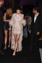 Kendall Jenner - The Chopard Dinner at Baoli Beach in Cannes, France 5/16/2016