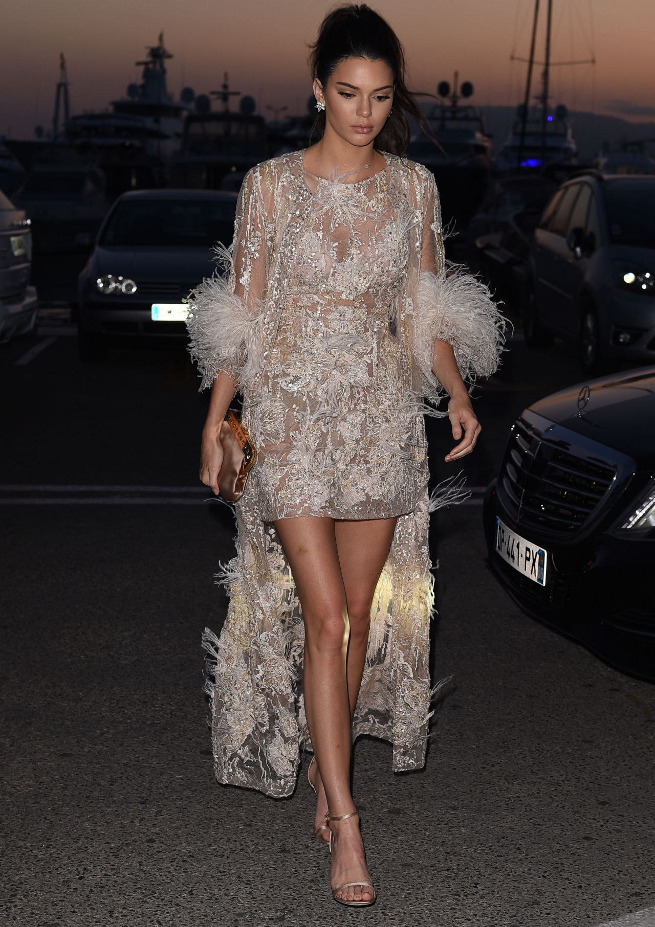 Kendall Jenner - The Chopard Dinner at Baoli Beach in Cannes France 5/16/2016