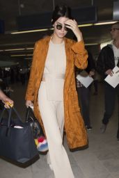 Kendall Jenner Travel Style - at Nice Airport in France 5/11/2016