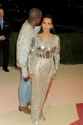 Kim Kardashian – Met Costume Institute Gala 2016 in New York