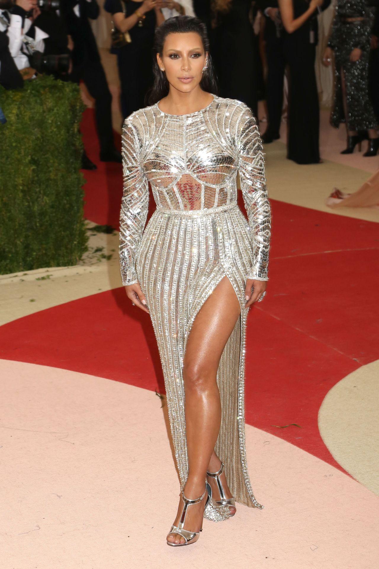 Kim Kardashian – Met Costume Institute Gala 2016 in New York Kim Kardashian