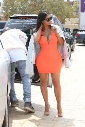 Kim Kardashian Style - Shows Off Her Curves at Nobu 5/28/2016
