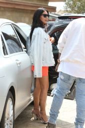 Kim Kardashian Style - Shows Off Her Curves at Nobu 5/28/2016