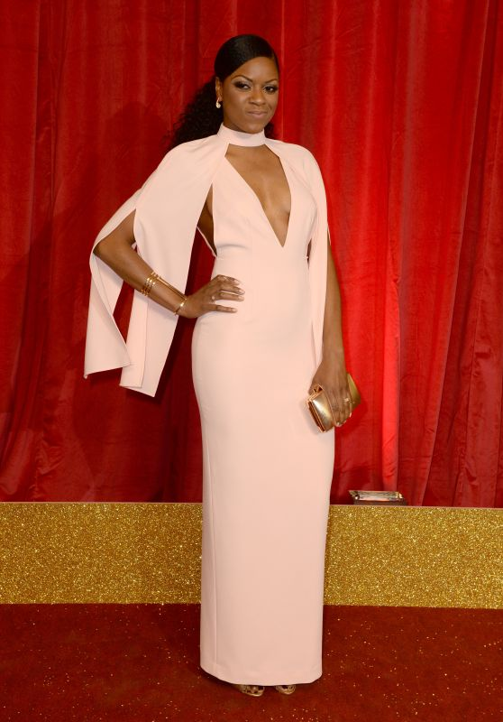 Kiza Deen – British Soap Awards 2016 in London, UK