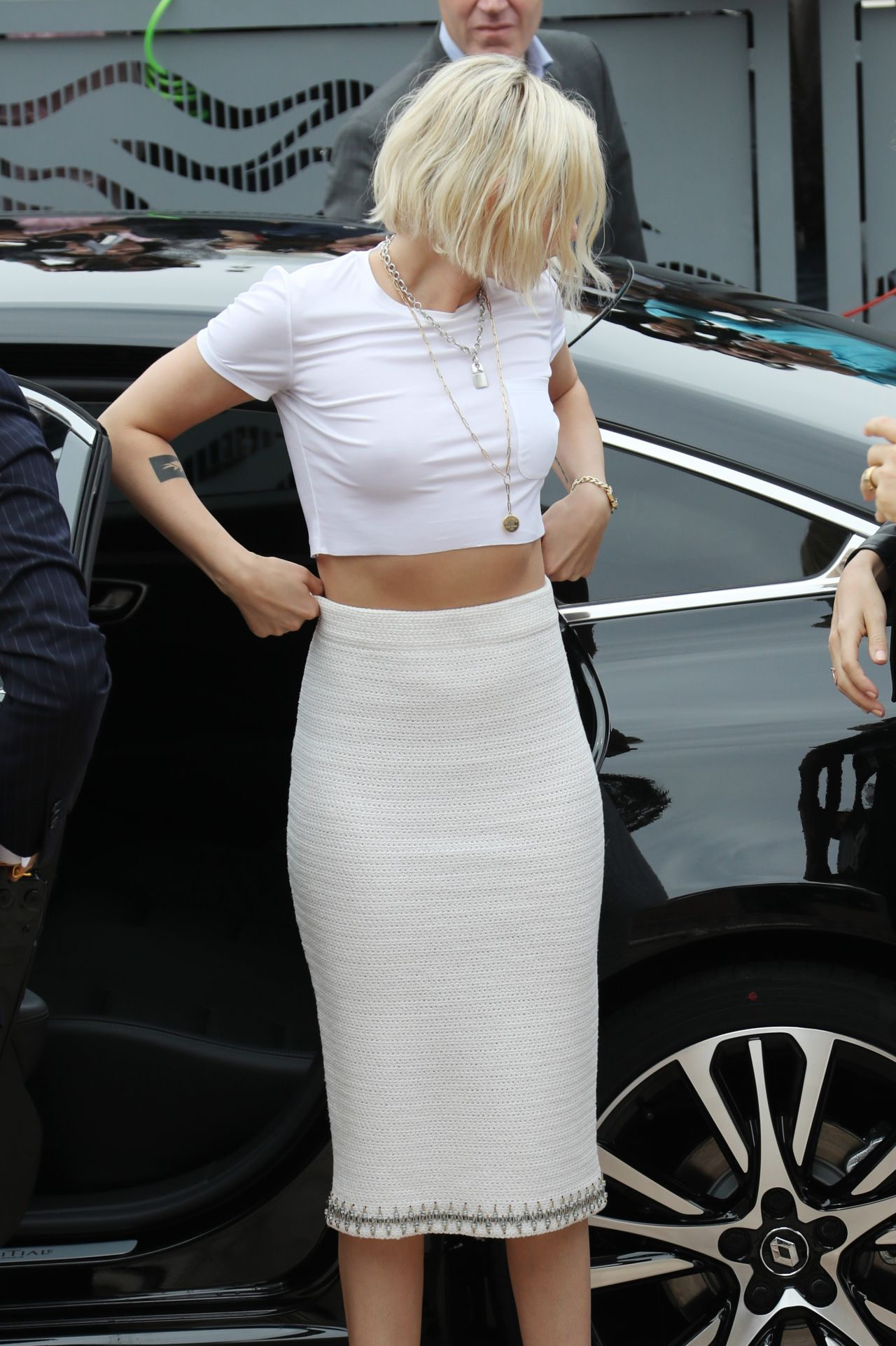 Kristen Stewart Arrives At Palais Des Festival In Cannes