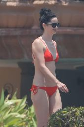 Krysten Ritter and Angelique Cabral in a Bikinis on a Beach in Mexico 5/8/2016