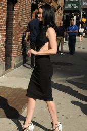 Krysten Ritter - Late Show with Stephen Colbert at Ed Sullivan Theatre Stage Door in NYC 5/20/2016