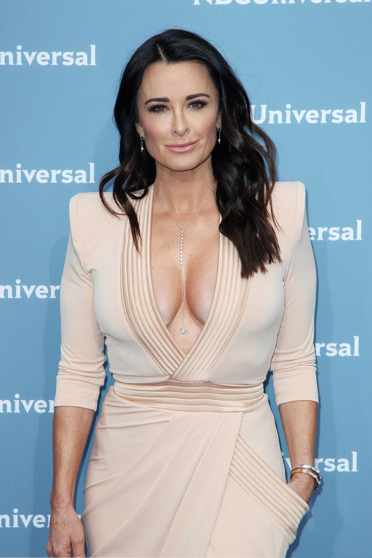 Kyle Richards Nbcuniversal Upfront Presentation In New