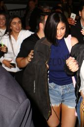 Kylie Jenner at the Rihanna Concert at the Forum in Inglewood, May 2016