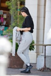 Kylie Jenner - Hiding Her Face in Calabasas 5/4/2016